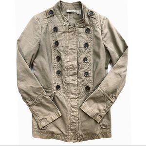 DKNY Khaki Military Jacket